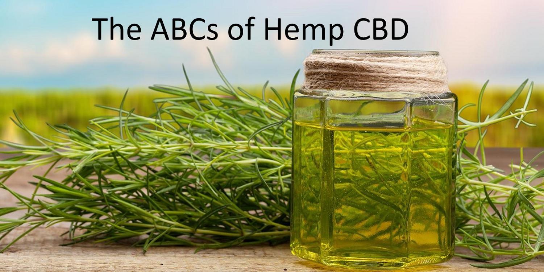 The ABCs of Hemp CBD